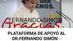 Quién está detrás del grupo que defiende a Fernando Simón en