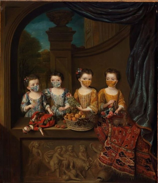 «The Daughters of Sir Matthew Decker - Jan van