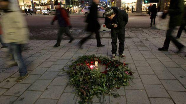 Lugar donde fue asesinado Olof