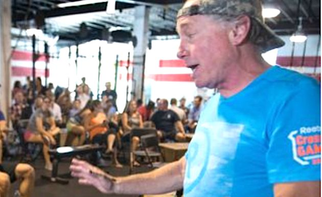 Greg Glassman, the founder of CrossFit (pictured in 2015), said he was stepping down as CEO and was