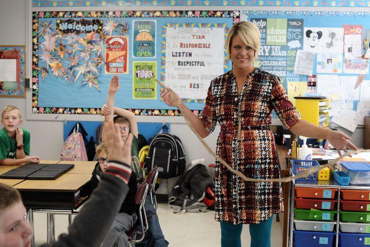 West Virginia elementary school teacher Amy Nichole Grady defeated state Senate President Mitch Carmichael in a GOP primary T