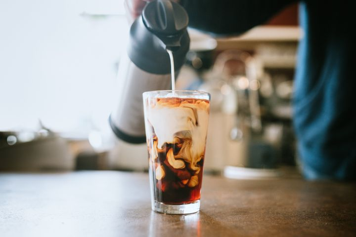 Clearly, milk or cream can make all the difference in your iced coffee drink.
