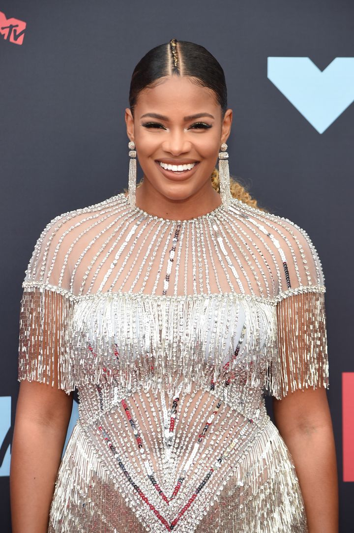 Crawford attends the 2019 MTV Video Music Awards at Prudential Center on Aug. 26, 2019, in Newark, New Jersey.