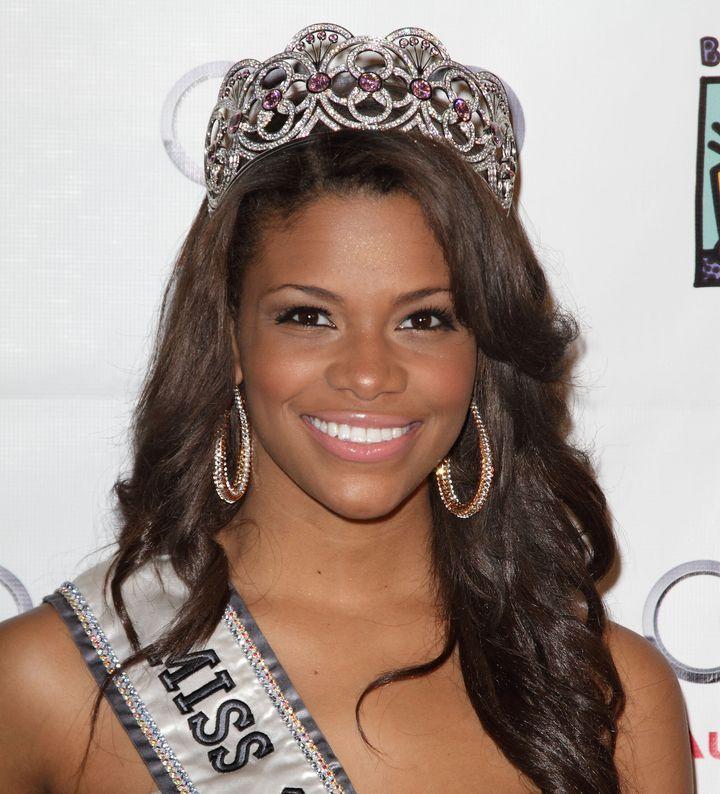 Kamie Crawford was crowned Miss Teen USA in 2010.