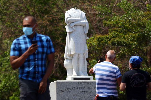 Pourquoi des statues de Christophe Colomb sont prises pour cible aux