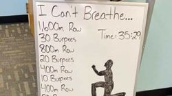 フロイドさんの死をテーマに「息ができない」トレーニングをジムが作成。不適切と非難、謝罪文を発表