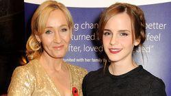 Emma Watson se junta a outras estrelas de Harry Potter e também critica JK Rowling por comentários