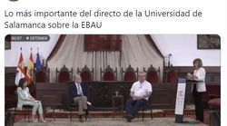 Lo que pasa en este momento en la Universidad de Salamanca va camino de batir récords: ha sido 'trending