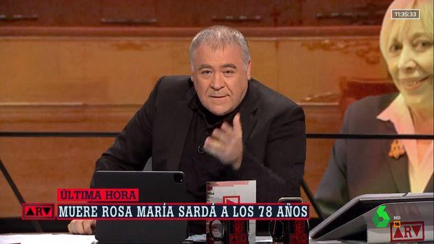 La despedida de Ferreras a Rosa María