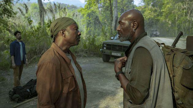 Clarke Peters (Otis) et Delroy Lindo (Paul), frères de sang dans