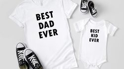 A Whole Bunch Of T-Shirts To Buy Dad For Father's