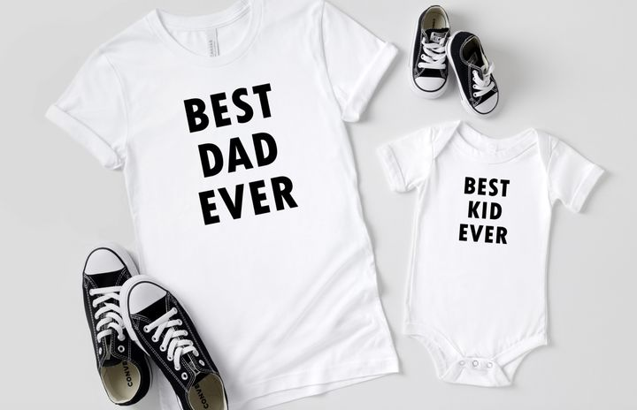 T-shirts are a great option for Father's Day gifts.