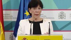 Celaá anuncia un acuerdo del Gobierno y todas las CC.AA, salvo Madrid y País Vasco, sobre el próximo curso
