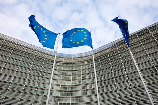 Belgium, Brussels, Berlaymont building, European Commission, administrative building of the European