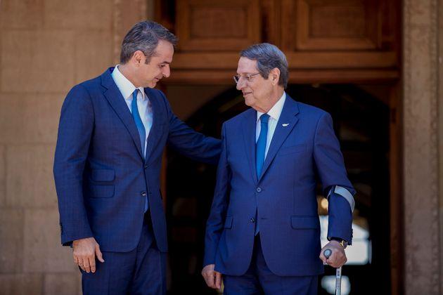 (Dimitris Papamitsos/Greek Prime Minister's Office via