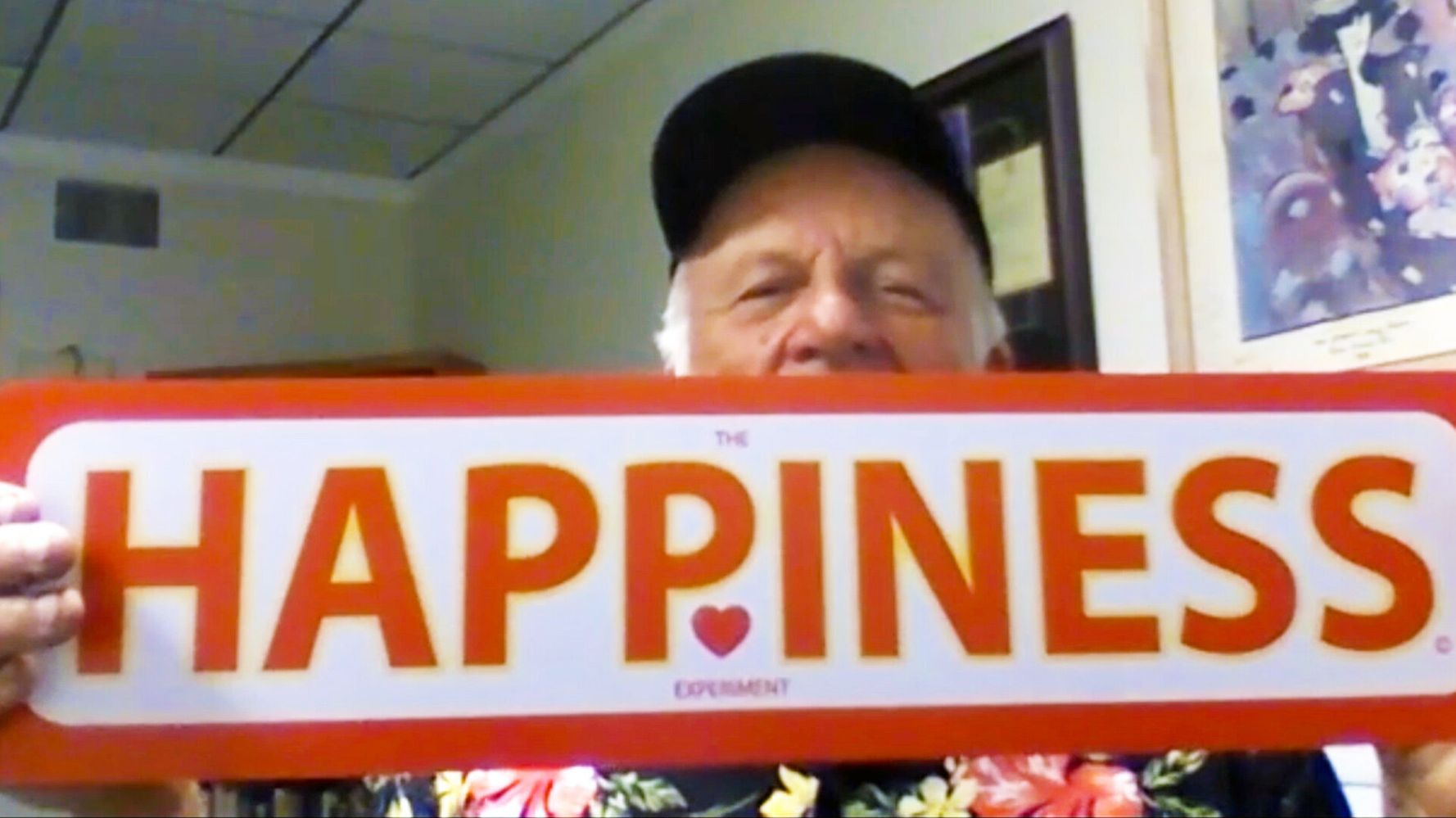 A Minute Of Kindness: This Man Covered His City With Happiness Signs