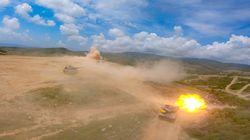 Μεγάλη άσκηση του ελληνικού στρατού στον Έβρο με άρματα μάχης και επιθετικά