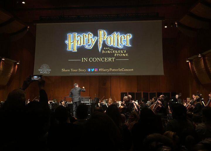 Dana Aliya Levinson ha asistido este año por su cumpleaños al concierto de 'Harry Potter y la piedra filosofal' interpretado por la filarmónica de Nueva York en Londres.