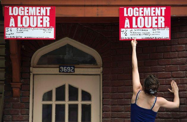 Québec débloque 71,5 millions $ pour éviter que des locataires se retrouvent à la