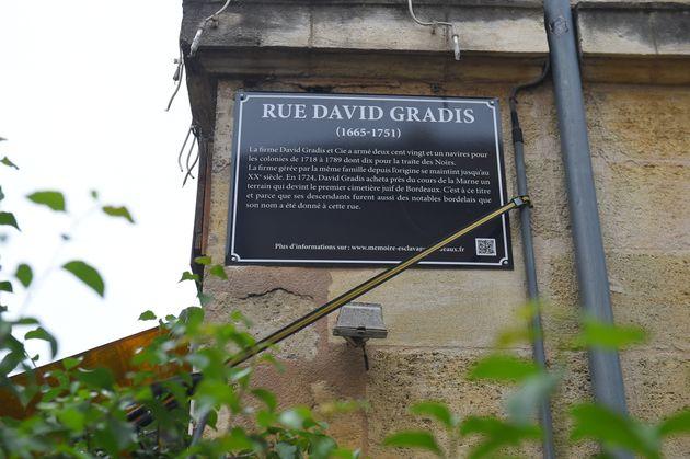 À Bordeaux, des plaques pour expliquer le passé esclavagiste de la