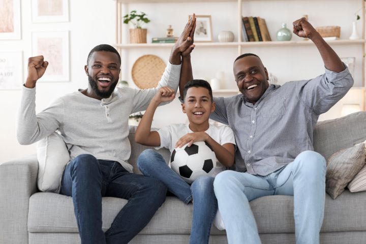 """If you&rsquo;re looking for the perfect <a href=""""https://www.huffpost.com/entry/a-complete-guide-to-buying-the-best-fathers-day-gifts_n_5b157cdbe4b02143b7cf203e"""" target=""""_blank"""" rel=""""noopener noreferrer"""">Father&rsquo;s Day gift this year</a>, what about something to fill that sports-shaped hole in his heart?"""