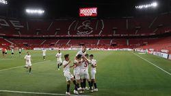 El Sevilla se lleva el derbi post-covid frente al Betis