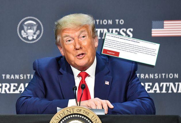 Trump, avec ses meetings en plein coronavirus, se dédouane déjà des possibles