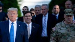 미국 군 최고 지도자가 트럼프에게 사실상 반기를