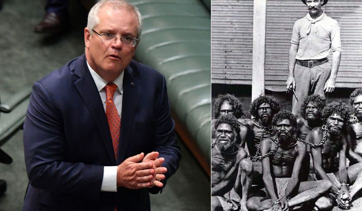 Scott Morrison Says There Was 'No Slavery In Australia', Instantly Gets Dragged On Twitter
