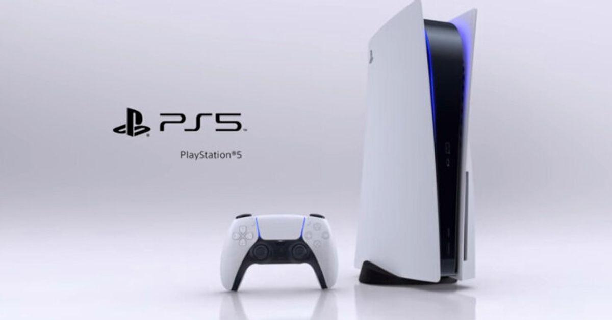 PlayStation 5の外見がついに判明。その優美な姿とは?