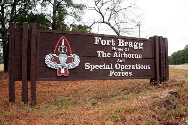 노스캐롤라이나주에 위치한 포트 브래그 기지. 남북전쟁 당시 남부연합군을 지휘했던 브랙스턴 브래그 장군의 이름을