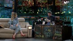 Edurne le da un regalo a Broncano en 'La Resistencia' y se lleva una respuesta
