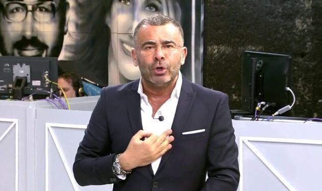 The presenter of 'Save me', Jorge Javier