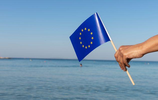 H ευρωπαϊκή σημαία, κάπου...