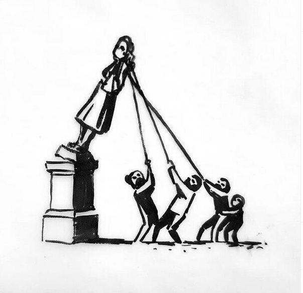Η πρόταση του Μπάνκσι για το άγαλμα του δουλέμπορου στο