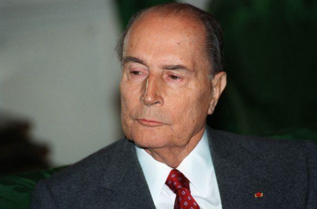 François Mitterrand, ici à Paris le 9 novembre