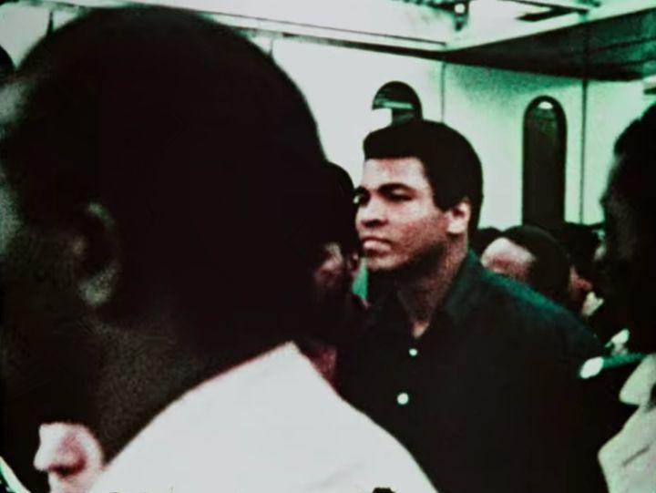 "Footage of Muhammad Ali in ""Da 5 Bloods."""