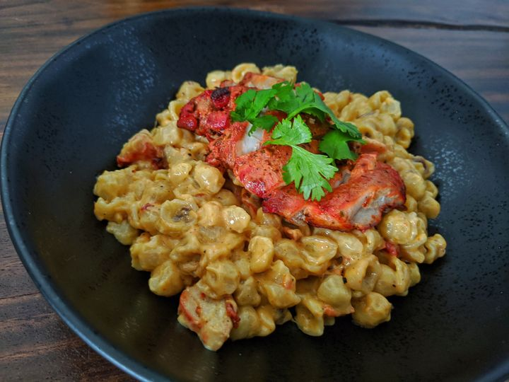 Rick's tandoori mac and cheese.