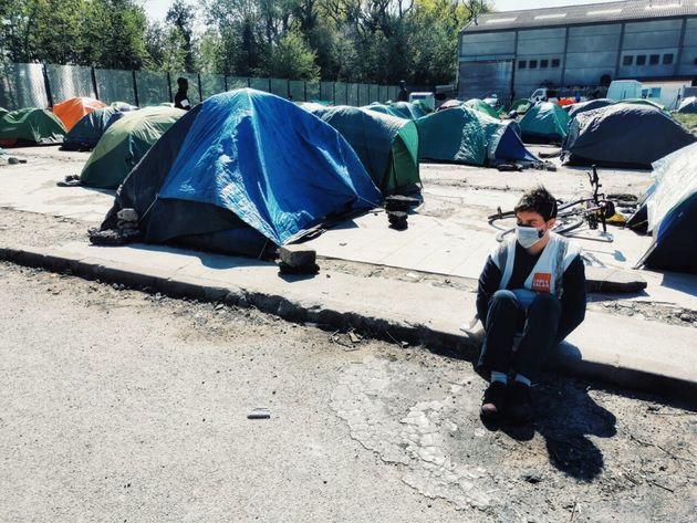 The author in Calais
