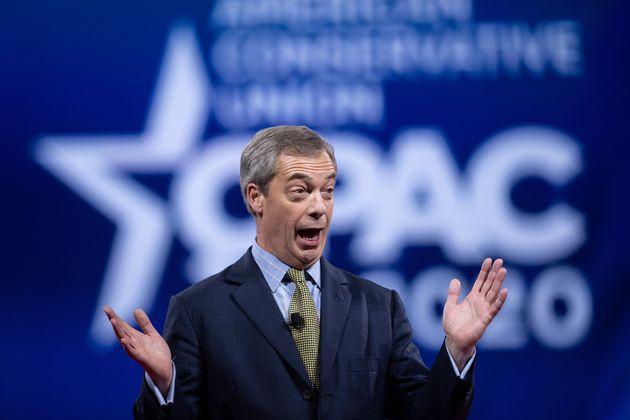 Nigel Farage, ici à Washington le 28 février