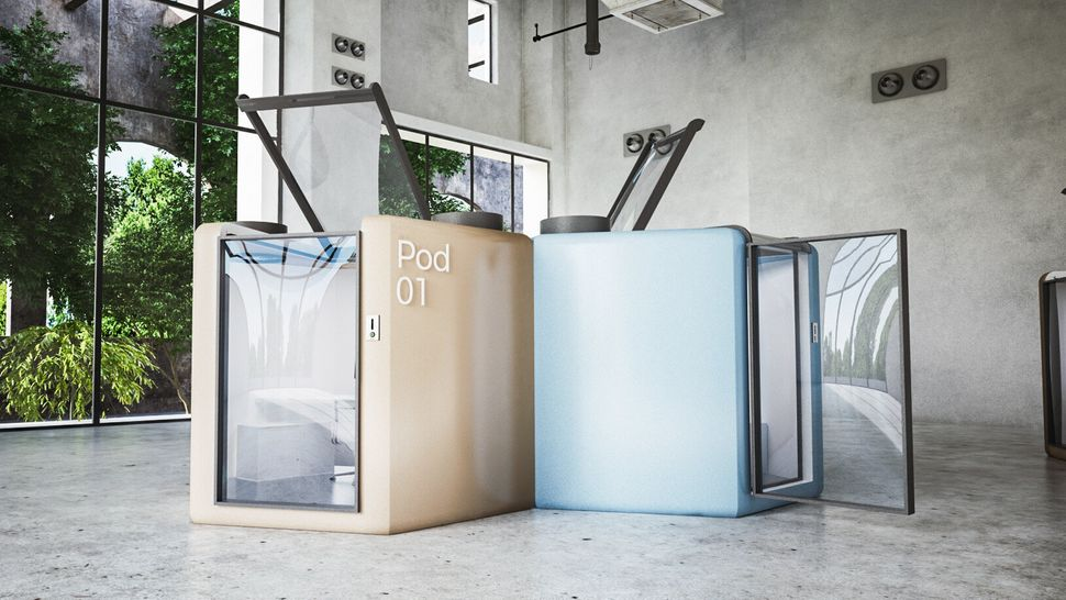 Could these pods be the future of the workplace?