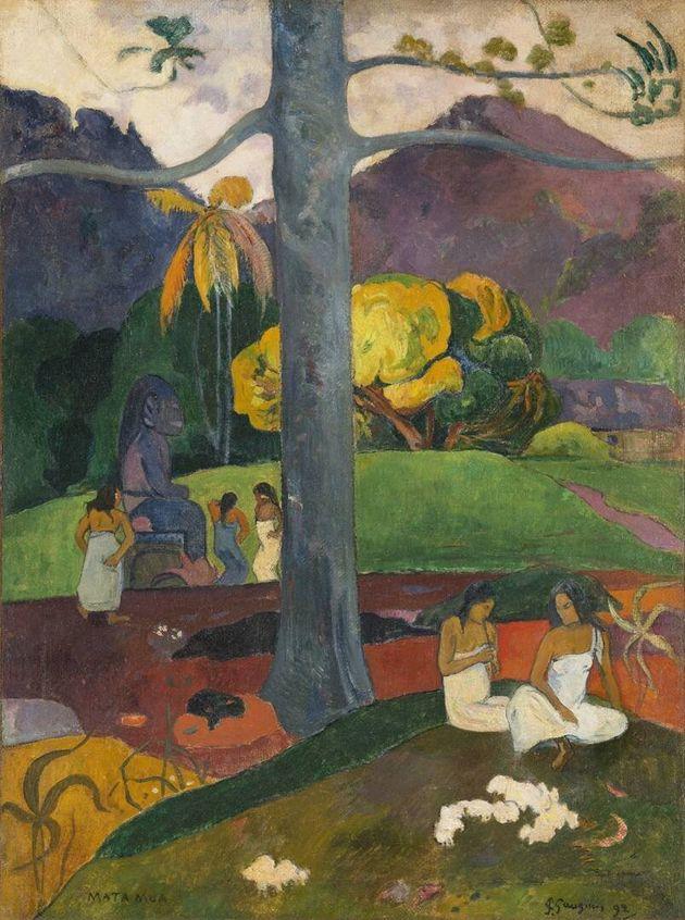 'Mata Mua', dePaul Gauguin. Colección Carmen