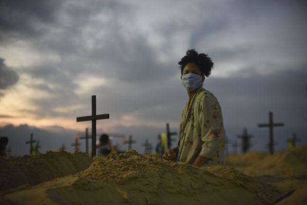 No início de junho, Brasil era o quarto mais com mais mortes por covid-19 no