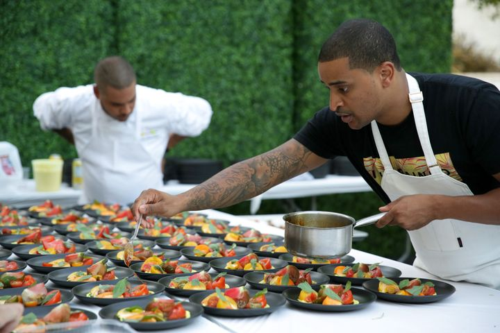 Chef JJ Johnson is part of the James Beard Impact Programs Advisory Committee and the Food Bank For New York City.