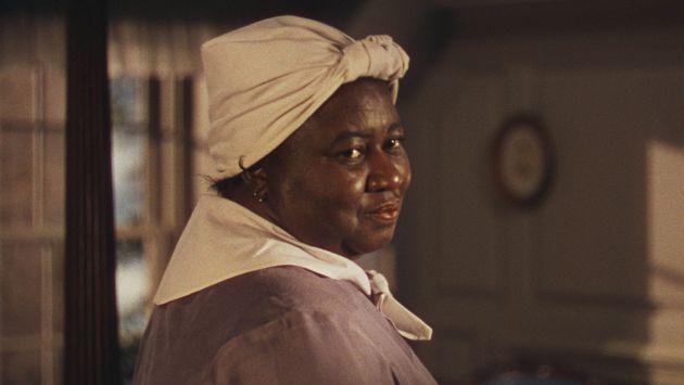 Fotograma de la icónica Mammy (Hattie McDaniel) en Lo que el viento se llevó (dir. Fleming,...
