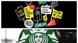 米スタバ、従業員に「#BlackLivesMatter」 のTシャツ禁止で炎上 ⇨