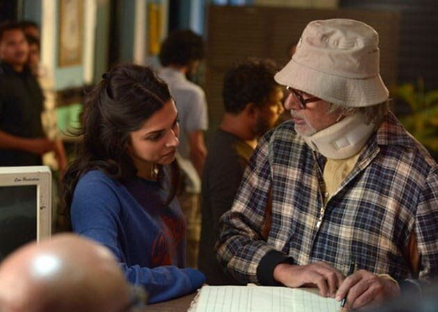 Deepika Padukone and Amitabh Bachchan in 'Piku'