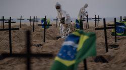 Brazil Passes UK To Record World's Second Highest Coronavirus Death
