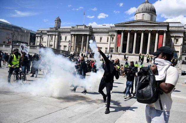 Disturbios en Trafalgar