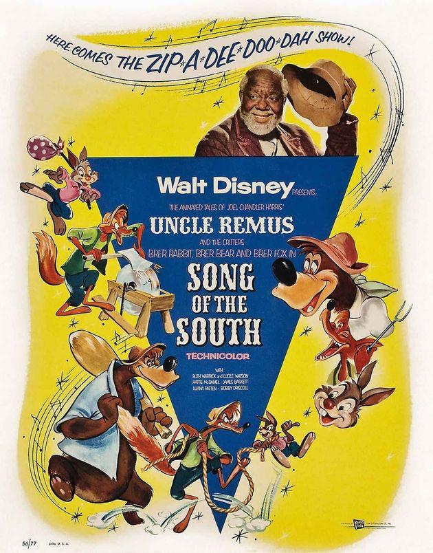 1946年に公開された映画『南部の唄』